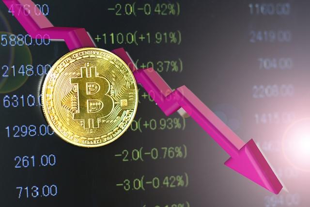 仮想通貨大暴落